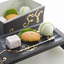 夕食:(小菓子)伊豆の旬食材を使ったプレミアムフレンチ会席