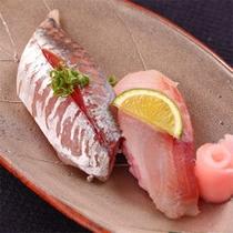 地魚寿司 〜ご夕食のお料理の一例です〜
