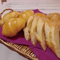 ■【朝食】こだわりのパン