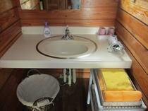 コテージ洗面台