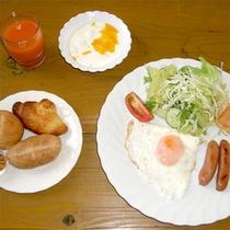 【朝食一例】(バイキング)