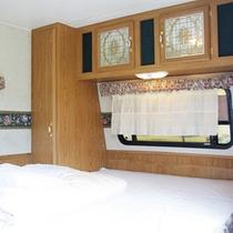 【トレーラーハウス】ベッド