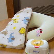 ファミリールームには、赤ちゃんグッズをご用意しています!