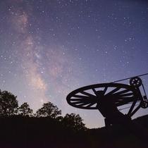 *晴れたら、写真では伝わらない満天の星空をお楽しみください。