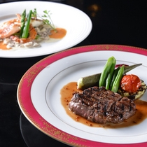 ◆和洋コース/穏やかな気候と風土に恵まれた芸北の食材を活かした料理で至福のひと時をお過ごし下さい。