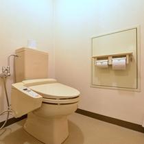 *角部屋(客室一例)/清潔を心掛けたお手洗いスペース。
