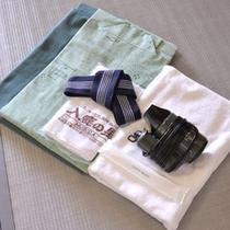 *客室アメニティ/タオル、浴衣、歯ブラシ等取り揃えています。