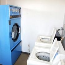 *館内にはコインランドリー完備!洗剤は無料でお使いいただけます♪