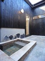 洋室+和モダンリビング(A1、A2、A3室)かけ流し露天風呂