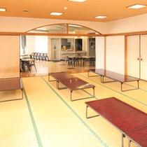 宴会場・・・(収容人員120名)忘年会・新年会・など団体様を対象となります。