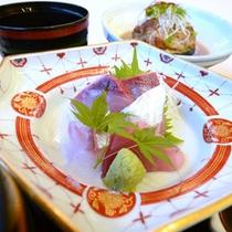 刺身(ご夕食一例)