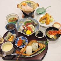 【さざなみ】旬の海鮮等気軽に楽しめる和定食