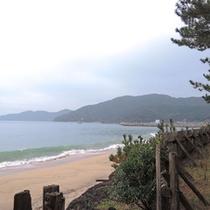 内之浦海岸(徒歩約1分)宿舎のすぐ裏♪