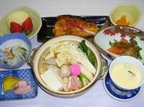 満喫プランの夕食例