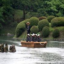 【栗林公園・和船就航】