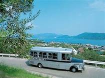 定期観光用ボンネットバス