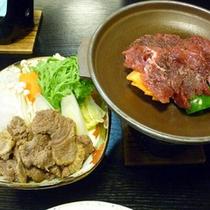 *【食事例】地元の味覚を使用したお食事をご用意致します。
