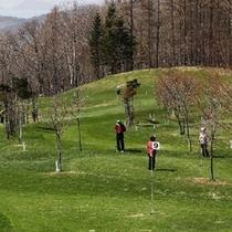 隣接のパークゴルフコース