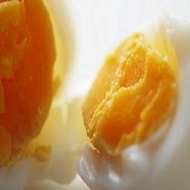 濃厚で鮮度バツグンの温泉卵は何個でもいけちゃう!!食べすぎにご注意を!!