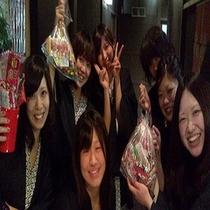 女子会!みんなで楽しく盛り上がろうかぐや姫企画特典盛り満載!!お客様満足度箱根No1