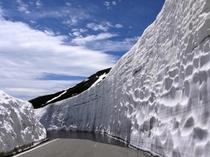 Mt.Norikura Snow wall