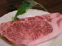 岩手県産黒毛和牛サーロインステーキ(例)