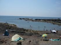 目の前がビーチ(Beach front of Z'sHouse)