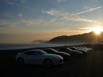 煙樹ヶ浜 夕陽
