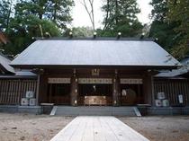 天岩戸神社西本宮拝殿