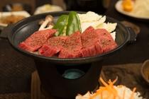 高千穂牛の陶板焼き2