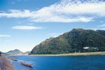 長良川と金華山