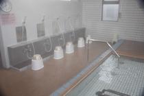 高濃度炭酸泉と洗い場