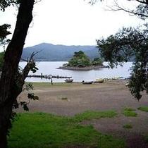 桧原湖いかり潟