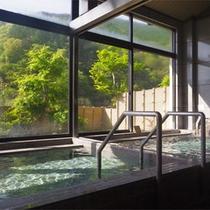 *【大浴場/仙人の湯】気持ちの良いお湯と景色に、日頃のストレスもスッキリ気分爽快!