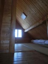 ログコテージグループタイプ/2階 寝室