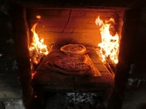 ピザ焼き体験 窯