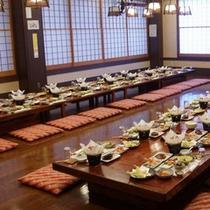 *【お食事会場】ご宴会を希望の際は、当館へお問い合わせ下さい。