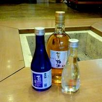 白山の地酒ブランド「白山菊酒」のひとつ「萬歳楽」。夕食と一緒にどうぞ!