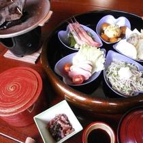 季節の旬の食材を使用した花びら五色膳をご用意致します(イメージ)