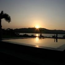 *うなりざきから見る朝陽
