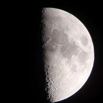 *天体観測:月