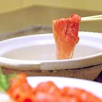 *【静岡そだち・しゃぶしゃぶ(イメージ)】お肉そのものの味を味わうなら、やっぱりしゃぶしゃぶ!