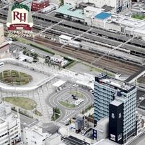 JR沼津駅徒歩0秒