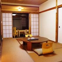 ≪スタンダード和室≫7.5畳に広縁が付いた定番和室タイプです。