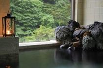 泉質と眺めの良いお風呂