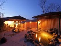 大浴場露天風呂【月】ー夜