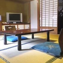 *和室8畳一例/程よい広さのお部屋です。