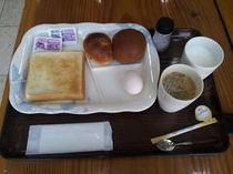朝食(軽食)