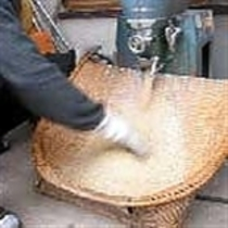 旅籠吉長の食へのこだわり:精米したての新鮮なお米