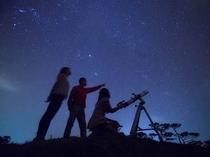 アクティビティ:星空観察 21全ての一等星が見れます